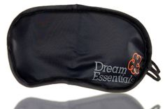 Dream Essentials Snooz Travel Accessory Sleep Mask Free Pair Earplugs Fun Design #DreamEssentials