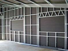 metal stud construction | Steel Stud Metal Barn Homes, Metal Building Homes, Pole Barn Homes, Building Design, Building A House, Metal Stud Framing, Steel Framing, Steel Frame House, Steel House
