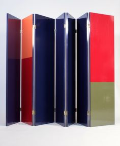 Interior design | decoration | home decor | furniture | Jacques Dumond; Lacquered Wooden Screen, c1960.