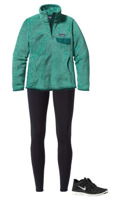 """""""✌️"""" by morgantaylor37 ❤ liked on Polyvore featuring NIKE and Patagonia"""