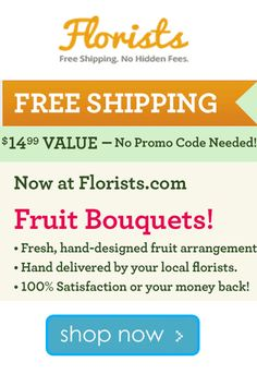 Florists.com Coupon Codes: Free Shipping On Orders $14 !