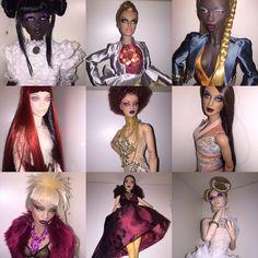 My lovely Numinas.. #numinadoll #fashiondoll #vakazov #dollcollection #dolls #doll