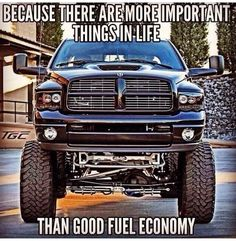 Dodge Cummins Diesel - Because there are more important things in life than good fuel economy.