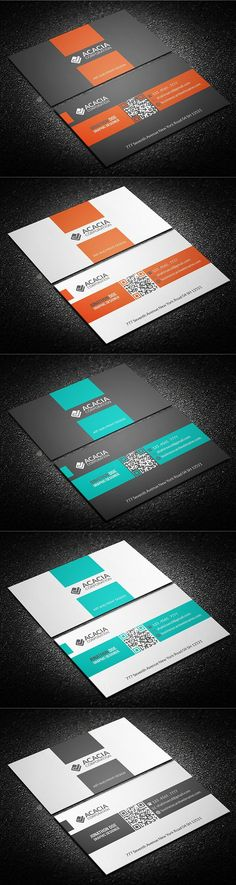 Multitype Business Card #agency #anchors