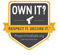 "Ten Tips for Firearm Safety in Your Home | Project ChildSafe """"Nearly all firearm accidents in the home can be prevented when gun owners take simple precautions, and proper storage is the number one way to help prevent accidents."" -- Steve Sanetti, President/CEO of the National Shooting Sports Foundation"""