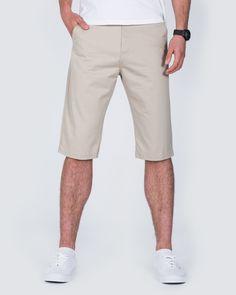 Ed Baxter Marakesh Tall Chino Shorts (beige) | Extra Long Tall Mens Clothing | Suits | Tall Mens Jeans | Shirts | Size 13-18 Shoes #tallmen #fashion