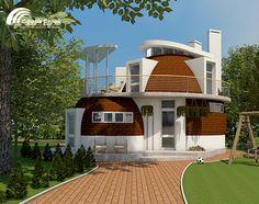 Проекты купольных домов - Sfera-Stroy