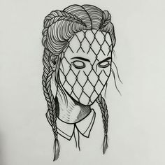 Boxer braids fishnet tattoo – – Graffiti World Baby Girl Drawing, Girl Drawing Sketches, Sketch Art, Tattoo Sketches, Tattoo Drawings, Art Drawings, Drawing Eyes, Graffiti Art, Graffiti Tattoo