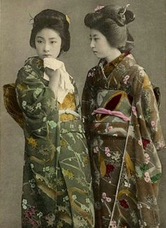 Geisha/Japan/historical photo/Dos