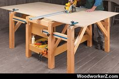 Expandable Worktable | WoodworkerZ.com