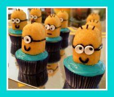 An easy, kid friendly dessert from the all time favorite movie, Despicable Me!