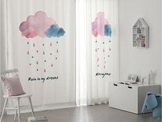 шторы облака