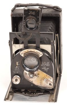 British New Special Sibyl Folding Plate Camera : Lot 141
