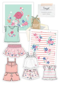 Design and develop garments and print for Target Babieswear department.