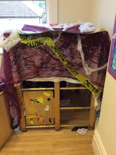 Butterflies Classroom Halloween Spooky House