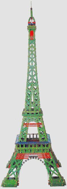 Märklin Eiffel Tower - Joel Perlin, Metal Construction Toy Specialist