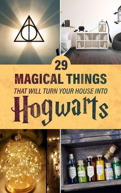 29 Magical Things That Will Turn Your House Into Hogwarts https://www.buzzfeed.com/maitlandquitmeyer/hogwarts-decor?bfpi