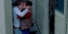 Brokeback Mountain <3 best kiss scene everrr