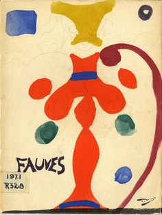 Title: Les Fauves  Author: John Rewald  Publication: Museum of Modern Art New York  Publication Date: 1952    Book Description: White paperback with illustration by Matisse: Notre Dame, Paris.  48 pages with black and white photographic illustrations by Impressionists painters