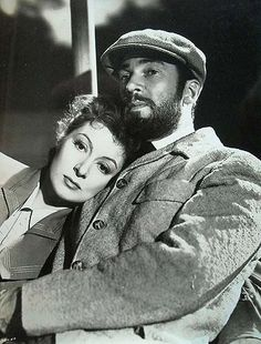 Greer Garson and Walter Pidgeon - Madame Curie