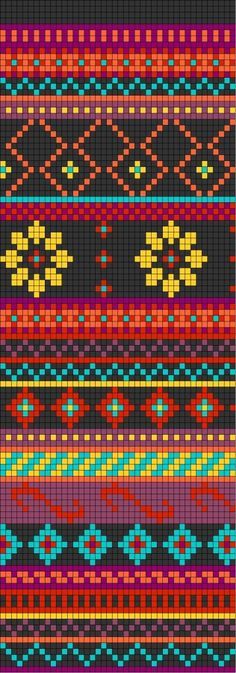 crochet wayuu bags motives pattern