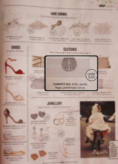 Perfect details from the Jennifer Regan shop in Shop Til You Drop magazine