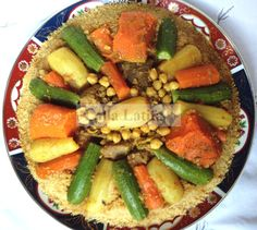 Couscous marocain au Thermomix TM5 Cooking Chef, Cooking Recipes, Algerian Recipes, Algerian Food, Moroccan Chicken, Arabic Food, Pasta, Pot Roast, Catering