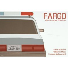 Retro print Fargo 18x12 inches movie poster. £12.00, via Etsy.