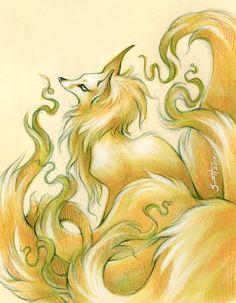 Kitsune by Savannah Horrocks