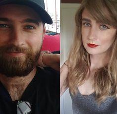 Transgender Transformation, Male To Female Transformation, Male To Female Transition, Mtf Transition, Transgender People, Transgender Girls, Brave Women, Strong Girls, New Girl