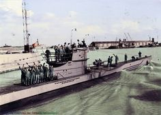 The U-97 was a Type VIIC U-boat built of German Kriegsmarine during the Second World War. She was laid down at the Friedrich Krupp Germaniawerft in Kiel as 'werk' 602, launched on 15 August 1940 and commissioned on 28 September under the command of Kapitänleutnant Udo Heilmann.