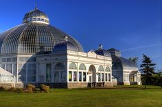 Botanical Gardens, Buffalo, New York, USA.