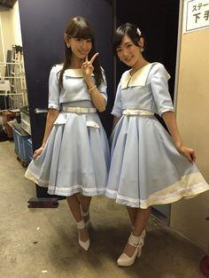 小嶋陽菜と生駒里奈 | Haruna Kojima and Rina Ikoma  #AKB48