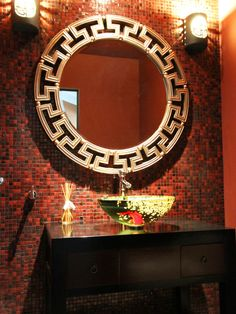 Asian Powder Room Design, Pictures, Remodel, Decor and Ideas