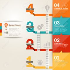 24800800-Number-1234-step-to-success-ladder-with-flat-design-layout-Stock-Vector.jpg (1300×1300)