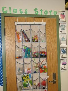 Organizing Your Classroom Store