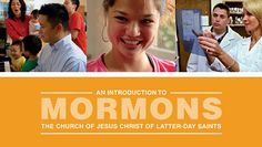 The Church of Jesus Christ of Latter-day Saints NEW VIDEOS to Introduce the world to Mormons!