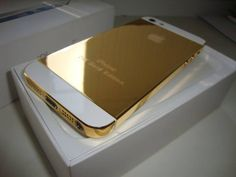 click for more info and pictures of this gorgeous iPhone GOLD!