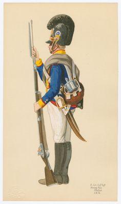 8. Lin. Inf. Rgt. Herzog Pius Füsilier 1812