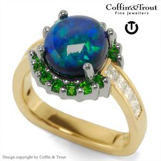Opal ring by Coffin & Trout