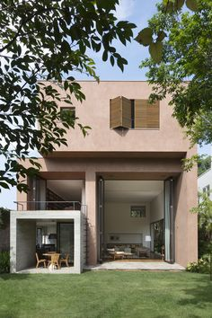 Completed in 2013 in Pinheiros, Brazil. Images by Ruy Teixeira. The house, in the neighbourhood of Pinheiros in São Paulo, is composed of blocks distributed in three floors. In the main block is located the living...