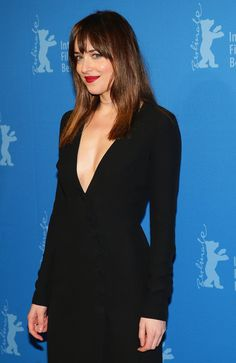 Dakota Johnson Photos Photos - Dakota Johnson attends the 'Fifty Shades of Grey' premiere during the 65th Berlinale International Film Festival at Zoo Palast on February 11, 2015 in Berlin, Germany. - 'Fifty Shades of Grey' Premiere - 65th Berlinale International Film Festival
