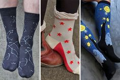Calling all space cadets! Today's blog features the vastness of our space-themed socks collection, as well as some useful tips for using our website's search bar! Just remember: in space, nobody can hear your squeals of excitement!