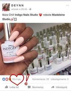 D E Y N N choose Ibiza Chill Gel Polish from Natalia Siwiec Collection Indigo Nails, Vernis Semi Permanent, Indigo Colour, Nail Studio, Gel Polish, Hair And Nails, Ladybug, Nail Colors, Nail Designs