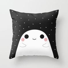 #ghost #pillow #home #decor #cute #society6 #nursery #kids #childrens #kidsroom #childrensroom