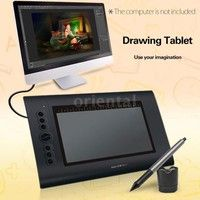 Art Graphics Drawing Tablet Hot Keys Cordless Digital Pen for PC Laptop Computer Mouse Accessories Free Graphic Design Software, Office People, Drawing Tablet, Working Area, Laptop Computers, Computer Mouse, Packaging Design, Student Office, Geek Stuff