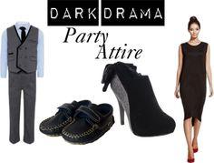 Dark Drama - Marks & Spenser's Party Attire