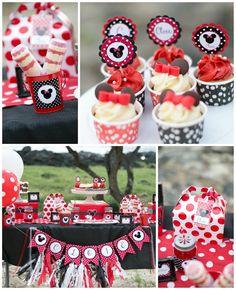 Minnie Mouse Polka Dot Picnic with Lots of Cute Ideas via Kara's Party Ideas | KarasPartyIdeas.com #MinnieMouse #PartyIdeas #Supplies (1)