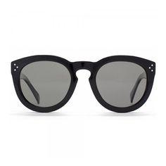 Céline Pretty Sunglasses ($440) ❤ liked on Polyvore featuring accessories, eyewear, sunglasses, celine acc, women, round lens glasses, polarized sunglasses, round glasses, lens glasses and round sunglasses