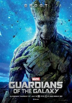 Guardians of the Galaxy Movie Poster - Groot